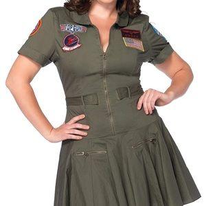 Leg Avenue Top Gun Costume/Dress